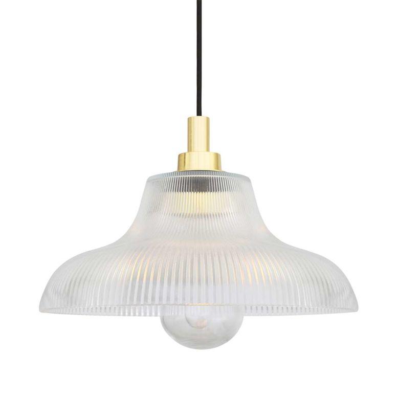 Aquarius Pendant Light Polished Brass