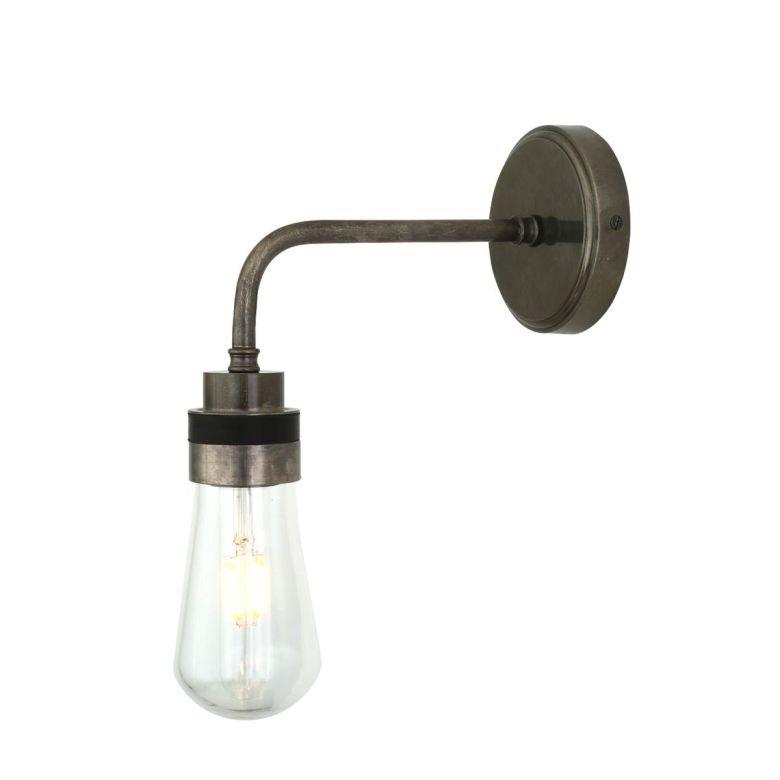 Bo Glass Small Modern Bathroom Wall Light IP65