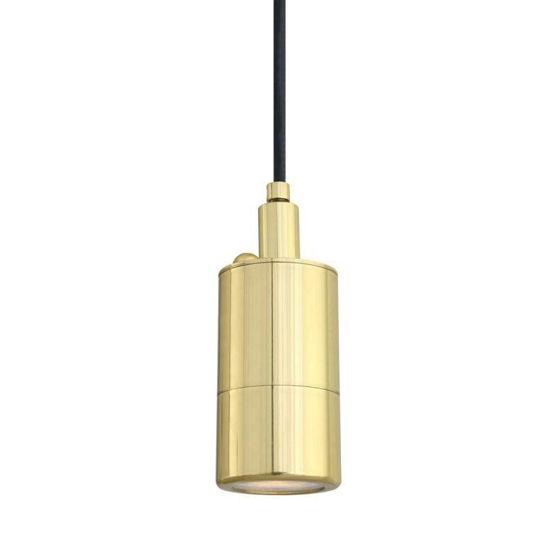 Ennis Brass Pendant