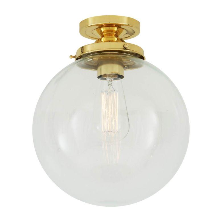 Riad globe ceiling light 25cm