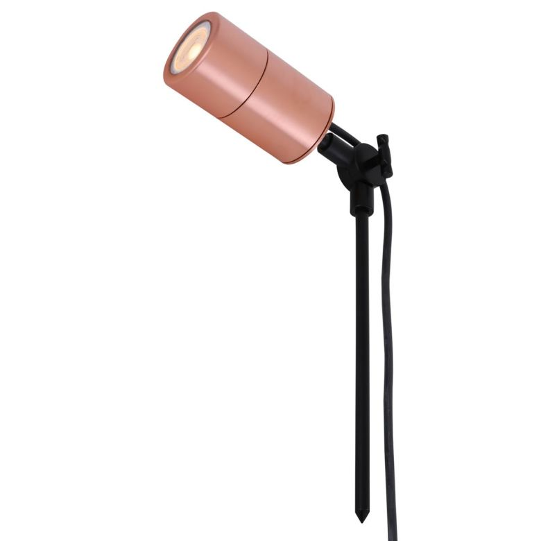 Vanora Copper Outdoor Garden Spot Light IP65