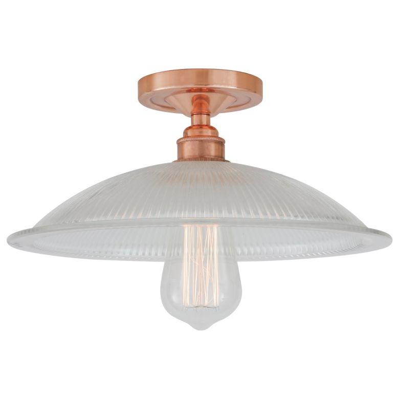 Calix Holophane flush ceiling light