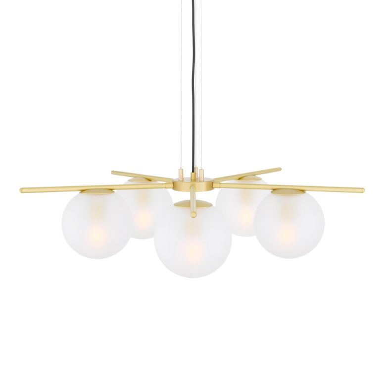 Madison Glass Ball Chandelier