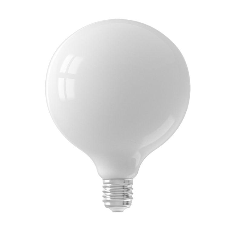 LED Milky White Globe Bulb Dimmable E27 6W 12.5cm
