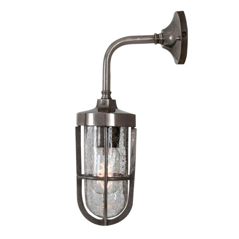 Carac well glass wall light IP65