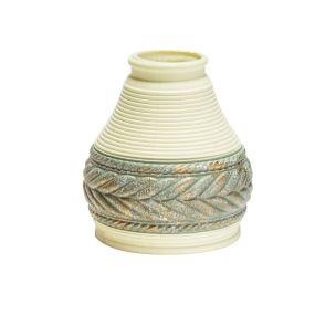 Cream Ceramic Bell Lamp Shade 13cm