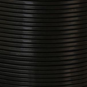Black PVC Flexible Cable, 2 Core