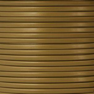 Gold PVC Flexible Cable, 2 Core
