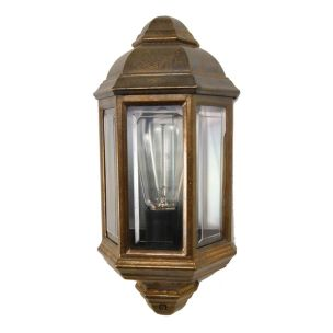 Arrigo Double Bare Bulb Vintage Wall Light