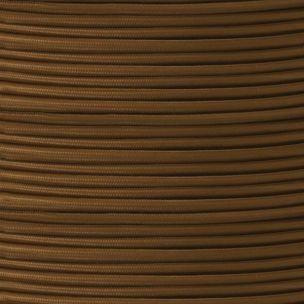 Câble brun flexible rond et tressé à 2 brins
