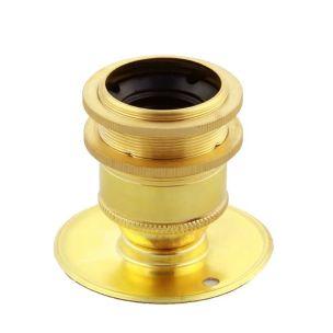 E27 brass lamp holder