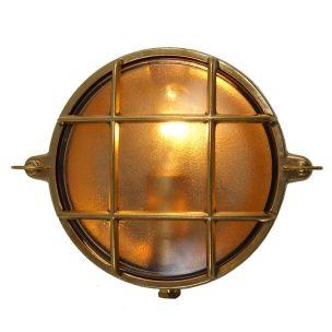 Ergo Marine Round Bulkhead Wall Light 16cm IP54