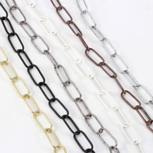 Heavy Link Chain for Hanging Lights 3.8mm