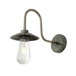 Ren Vintage Brass Swan Neck Bathroom Wall Light IP65