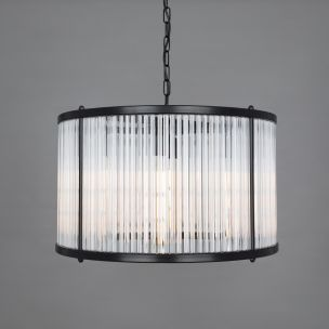 Caledon Grand Chandelier with Glass Rods