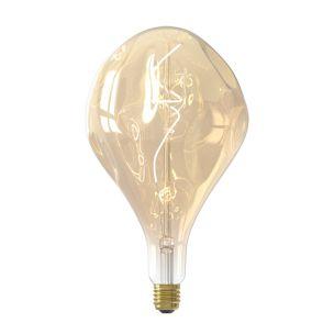 Large LED Organic Gold Filament Bulb Dimmable E27 6W 16.5cm