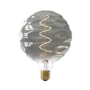 LED Titanium Ripple Effect Bulb Dimmable E27 4W 15cm