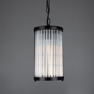 Caledon Petite Pendant with Glass Rods