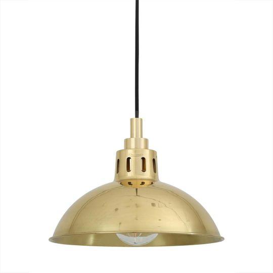 Talise Brass Bathroom Pendant Light 30cm IP65