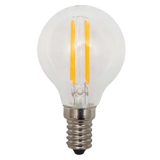 E14 5W golfball dimmable LED bulb 4.5cm