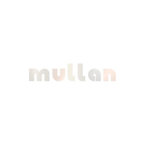 Riad Clear Glass Globe Pendant Light 30cm, Antique Brass