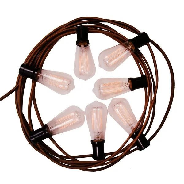 Indoor String Lights or Festoon, 1/2 Metre Spacing