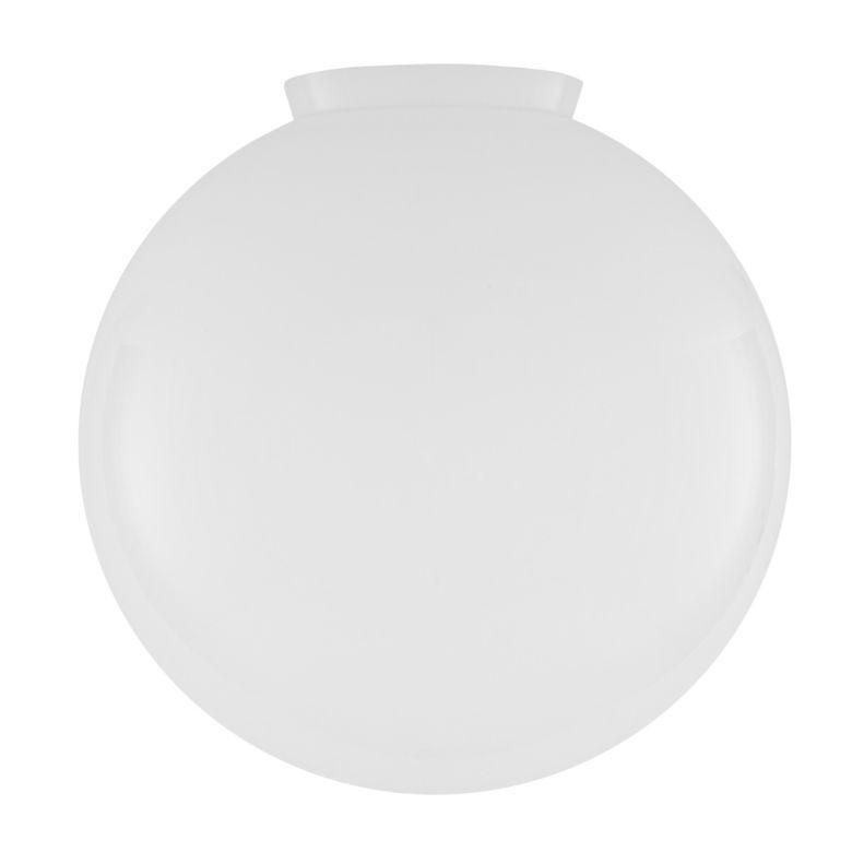 Large Opal Glass Globe Light Shade  40cm