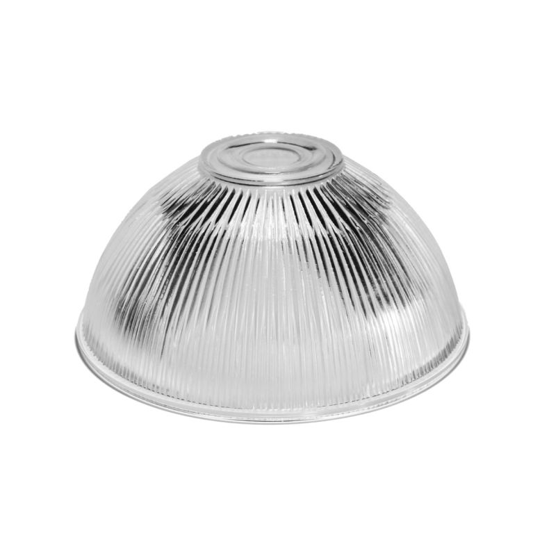 Holophane glass lamp shade 19.5cm