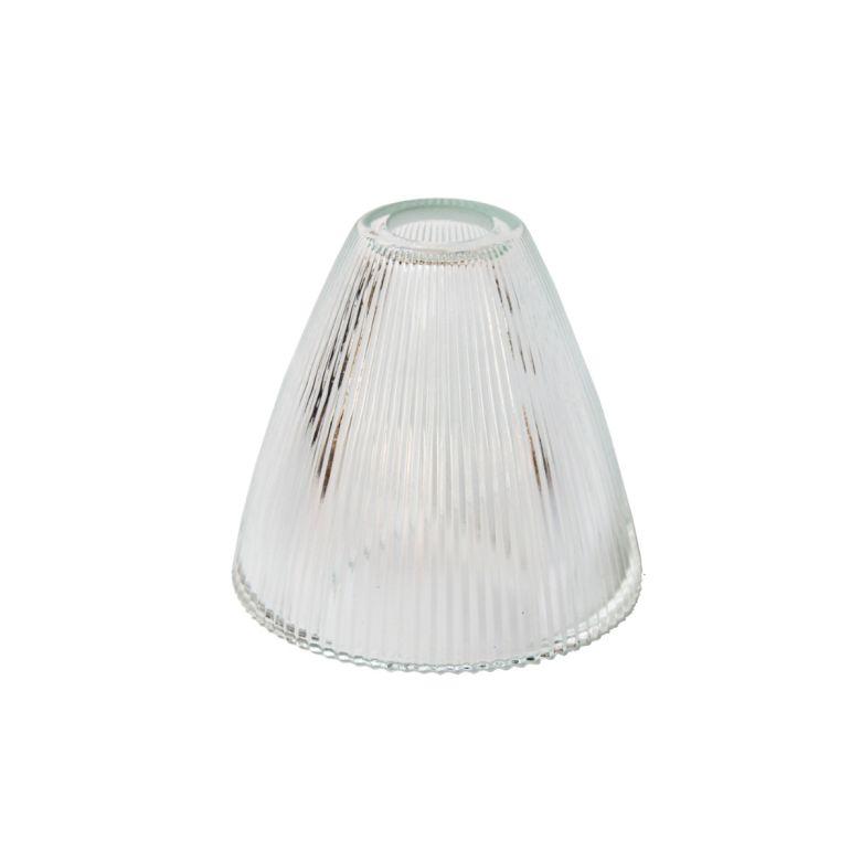 12cm Holophane glass shade