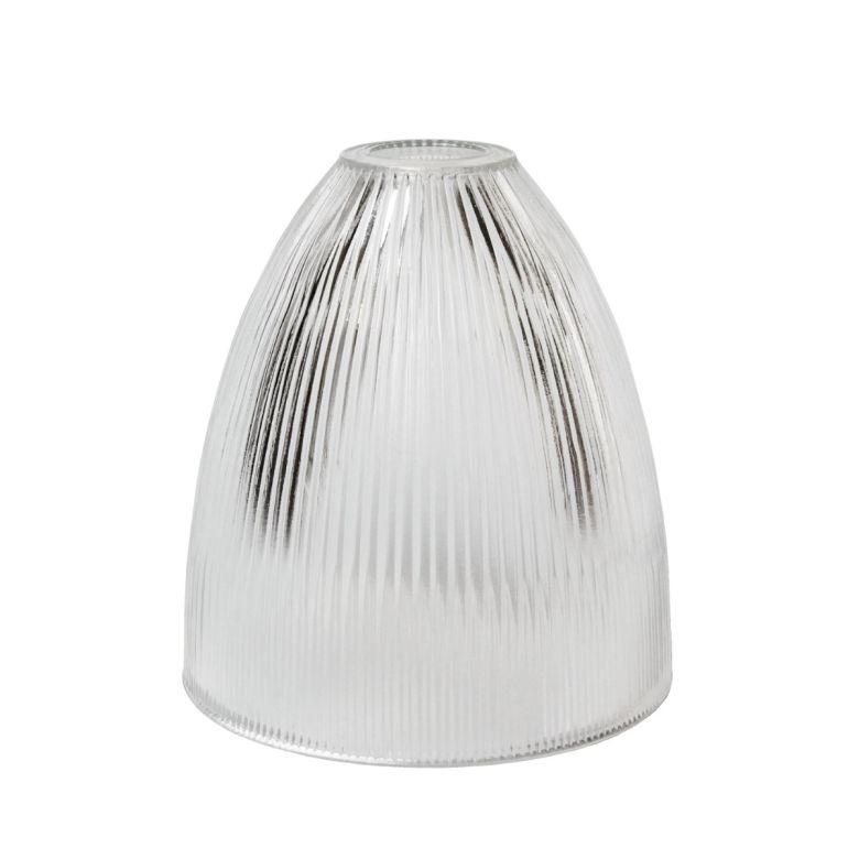 20cm Holophane glass shade