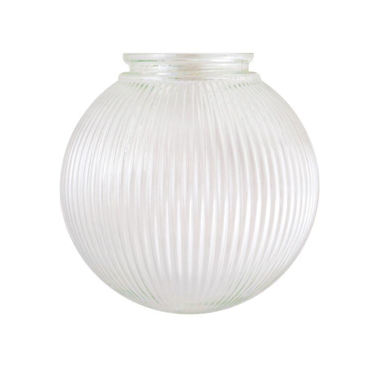 20cm Holophane glass globe