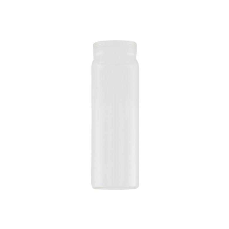Clear Tube Glass Lamp Shade 17.5cm