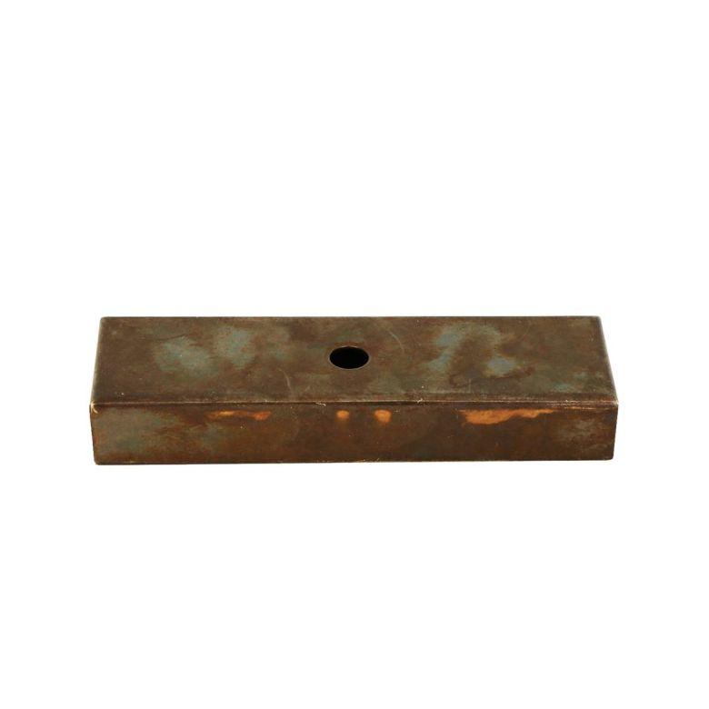 140mm rectangular wall bracket