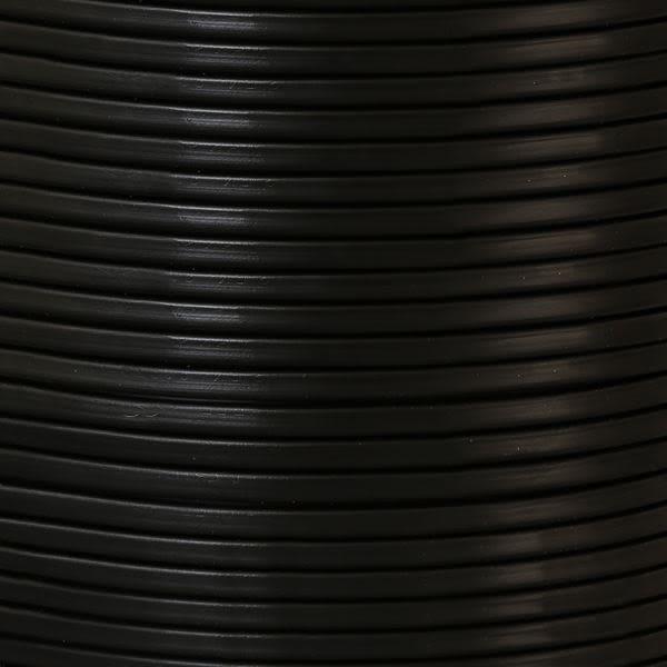 Câble noir PVC flexible à 2 brins
