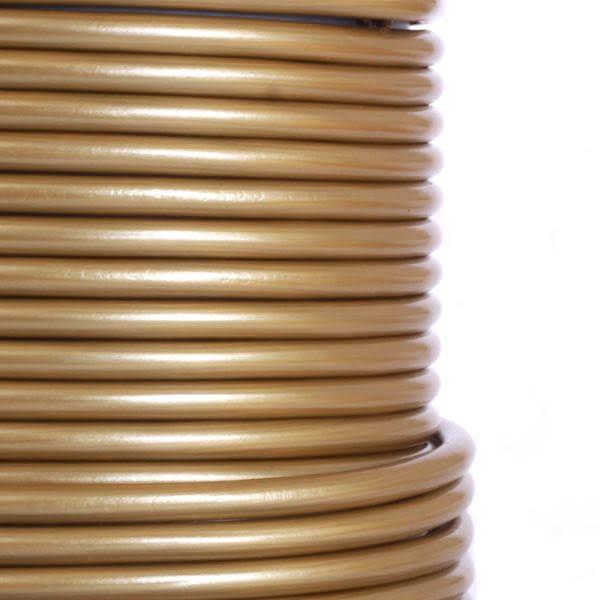 Câble doré PVC flexible à 3 brins