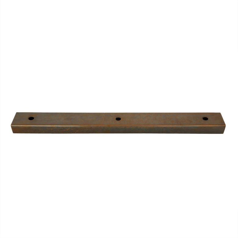 400mm rectangular wall bracket