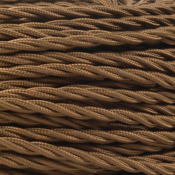 Câble brun flexible torsadé à 3 brins