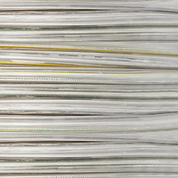 Câble flexible en pvc transparent, 3 fils
