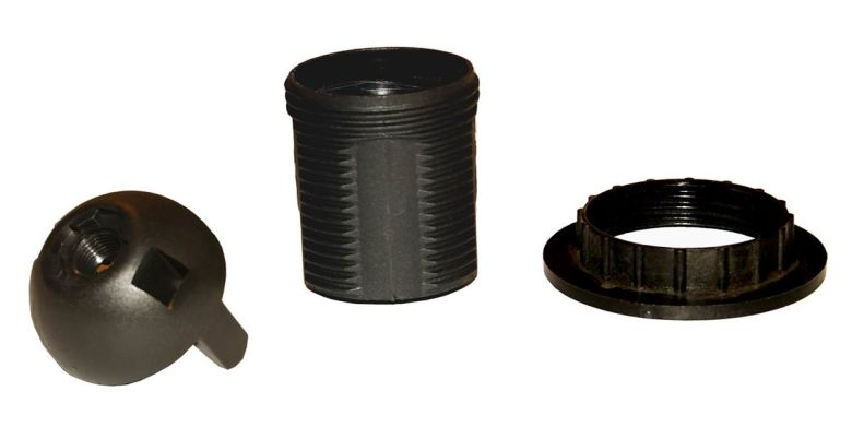Douille en plastique E27 (porte-ampoule ES)