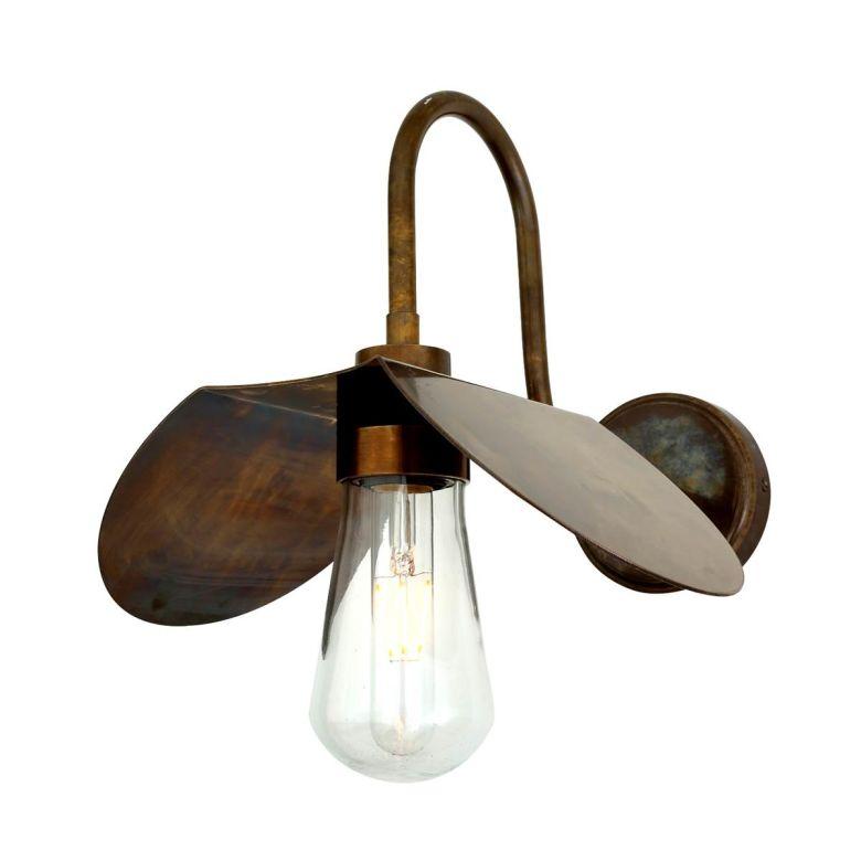 Hali Vintage Swan Neck Bathroom Wall Light IP65