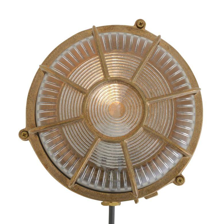 Pasha Brass Outdoor Marine Ceiling Light 20cm IP64