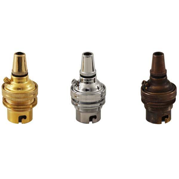 Douille B22 (porte-ampoule BC) avec serre-câble