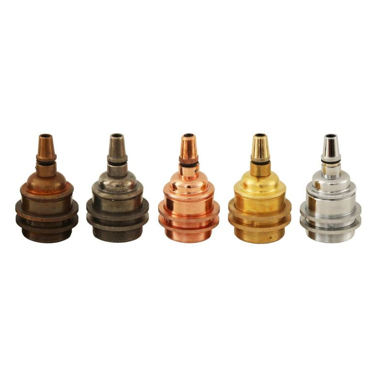 Support de lampe vintage avec cordon de serrage E27