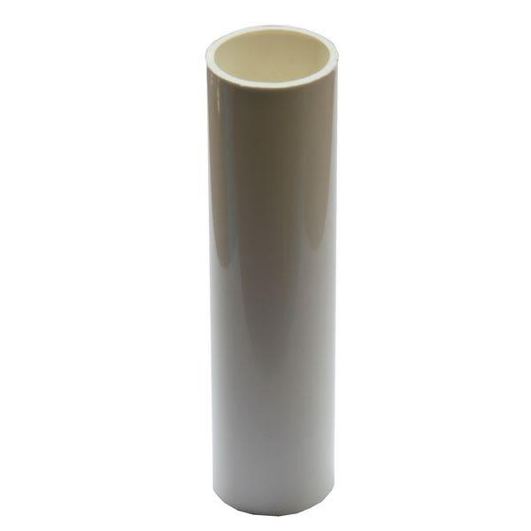 Tube de bougie en plastique blanc pour luminaire