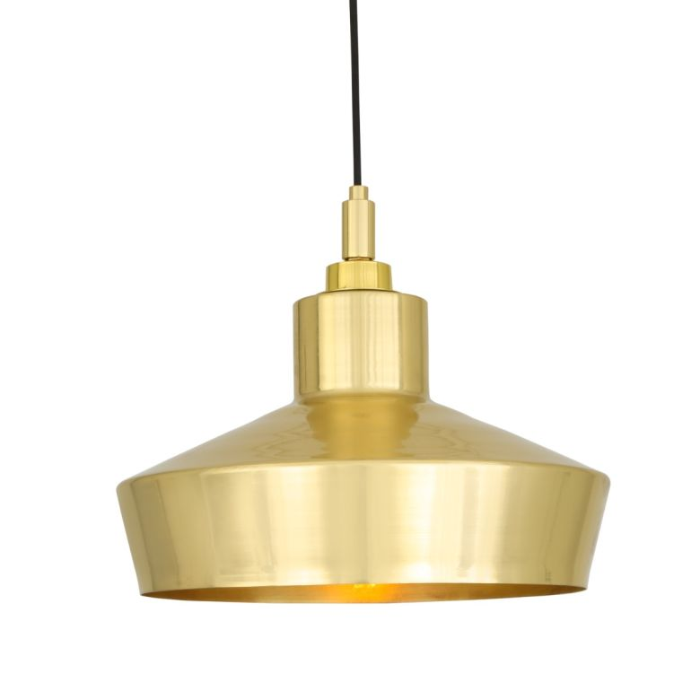 Isla Pendant Polished Brass
