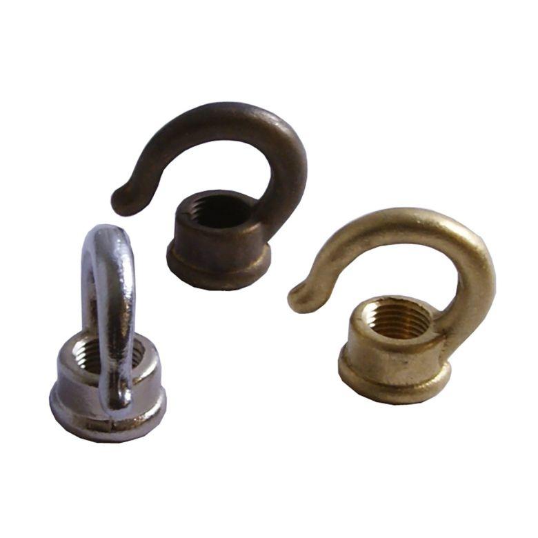 Brass Open Hook M10