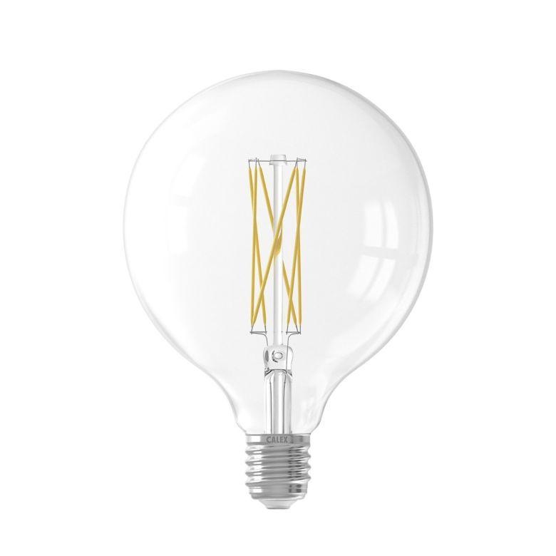 LED Clear Globe Filament Bulb Dimmable G125 E27 4W 2300K 12.5cm