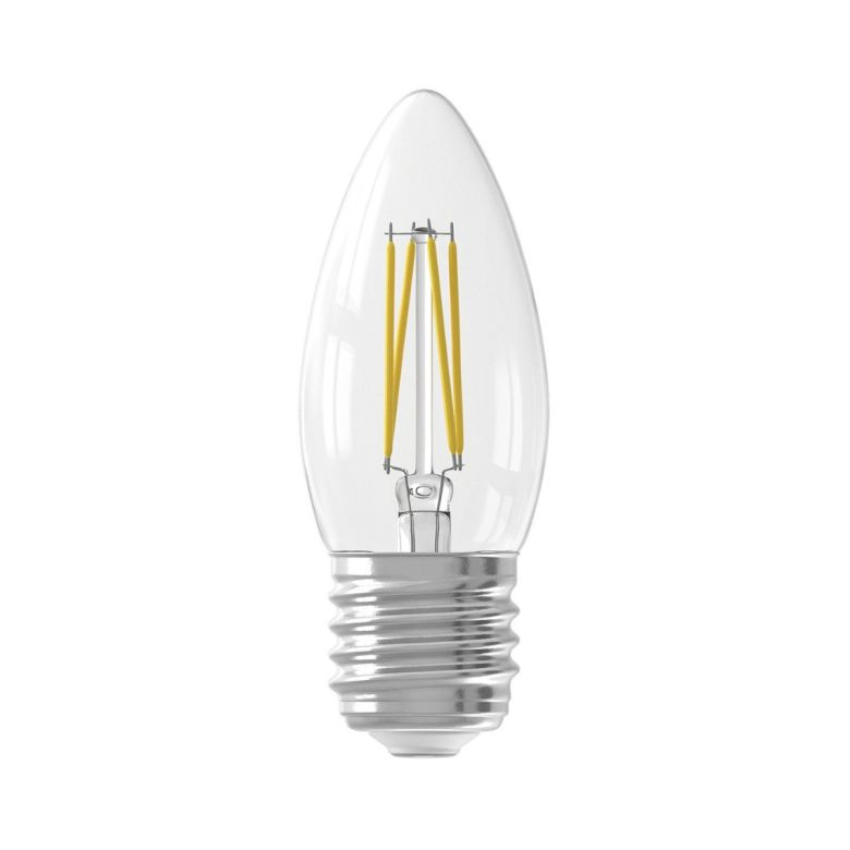 LED Filament Candle Bulb Warm White E27 3.5W 9.3cm