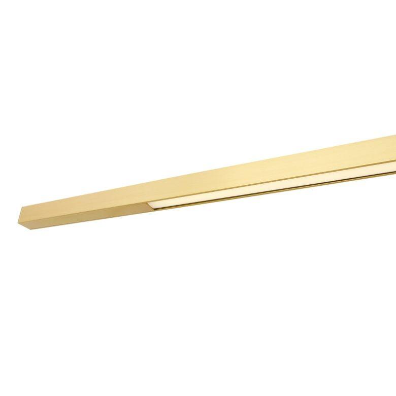 Fairfield Contemporary Brass LED Linear Pendant