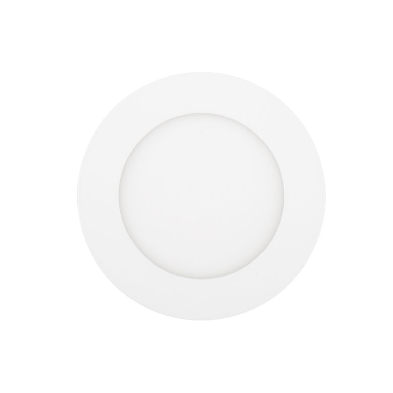 Round Recessed LED Ceiling Light 6W 110mm